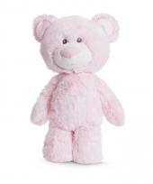 Pluche roze beren knuffel 29 cm trend