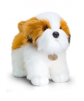 Pluche staande hond shih tzu knuffel 40cm trend