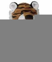 Pluche tijger knuffeldiertjes 27 cm trend