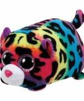 Pluche ty teeny luipaard knuffel 10 cm trend