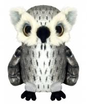 Pluche uil knuffel 23 cm trend
