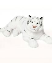 Pluche witte tijger 81 cm wnf trend
