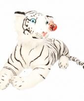 Pluche witte tijgers 70 cm trend