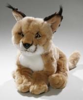 Pluche woestijn lynx knuffel 28 cm trend