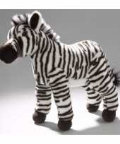 Pluche zebra knuffel 32 cm trend