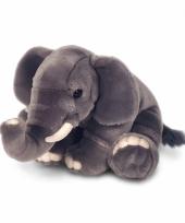 Pluche zittende olifant knuffel 110 cm trend