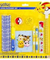 Pokemon schrijfwaren setje trend