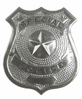 Politie agent badge trend