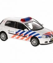 Politie auto schaalmodel trend