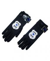 Politie handschoenen trend