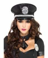 Politie petten met pailletten trend