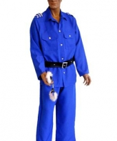 Politie verkleedkleding heren trend