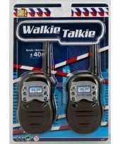 Politie walkie talkie speelgoed voor kinderen trend