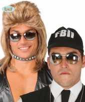 Politie zonnebril spiegelglazen trend 10078335