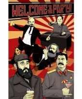 Politieke poster communisme trend