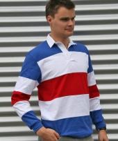 Poloshirts in nederlandse kleuren trend