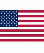 Polyester mega vlag amerika 150 x 240 cm trend