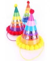 Pompon hoedje verjaardag trend