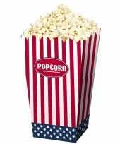 Popcorn bakjes usa 4 stuks trend