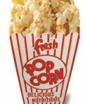 Popcorn versiering bord 150 cm trend