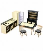 Poppenhuis keuken meubel set trend