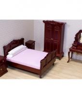 Poppenhuis slaapkamer meubel set trend