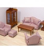 Poppenhuis woonkamer meubel set trend