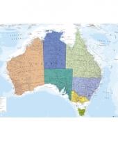 Poster australie landkaart 61 x 91 5 cm trend