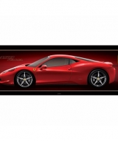 Poster ferrari 458 italia auto 158 x 53 cm trend