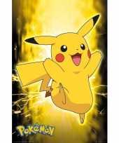 Poster pokemon pikachu 61 x 91 cm wanddecoratie trend