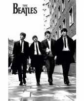 Poster the beatles zwart wit 61 x 91 5 cm trend