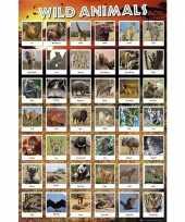 Poster wilde dieren trend