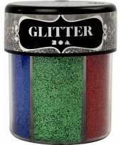 Potje glitters met felle kleuren trend