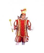 Prins carnaval pak voor heren trend