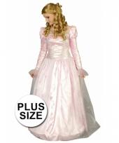 Prinses jurk in grotere maten trend