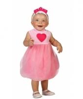 Prinsessen jurk roze voor babys trend