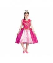 Prinsessia verkleed kostuum roze trend