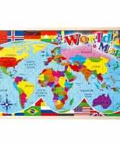 Puzzel met landen 108 delig trend