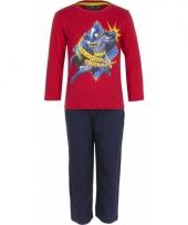 Pyjama batman rood trend
