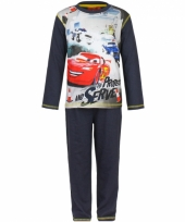 Pyjama cars donker blauw trend