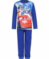 Pyjama cars licht blauw trend