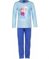 Pyjama frozen blauw trend 10077232