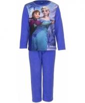 Pyjama frozen blauw trend