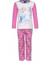 Pyjama frozen elsa roze trend