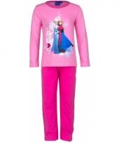 Pyjama frozen roze trend 10077235