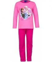 Pyjama frozen roze trend