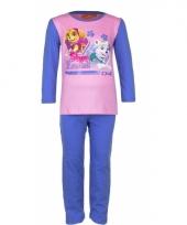 Pyjama paw patrol voor meisjes blauw trend