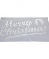 Raamsjabloon merry christmas 54 cm type 2 trend
