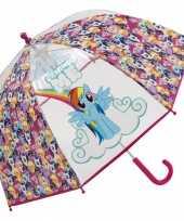 Rainbow dash pony paraplu voor meisjes trend