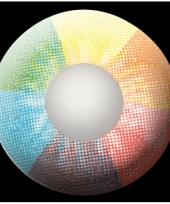 Rainbow uv feestlenzen trend